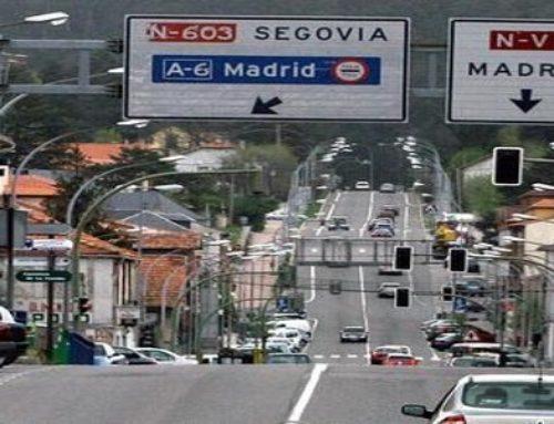 La alcaldesa de El Espinar exige nuevamente al Ministerio de Fomento una solución urgente para la travesía de San Rafael
