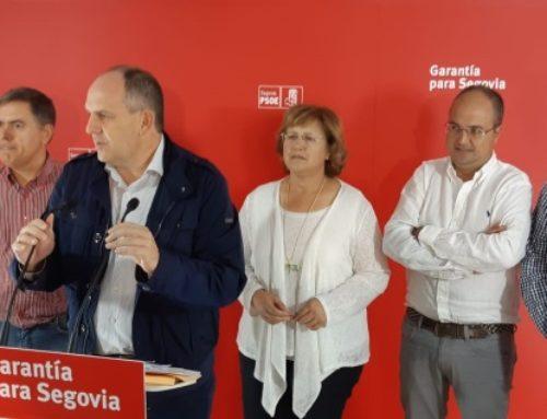 El PSOE explica que nadie entiende la moción de censura en Ayllón, salvo que exista algún acuerdo soterrado que no se explicó