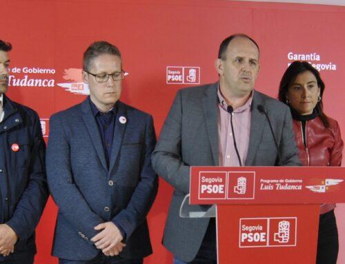 EL PSOE PRESENTA SU DECÁLOGO DE PROPUESTAS PARA SEGOVIA